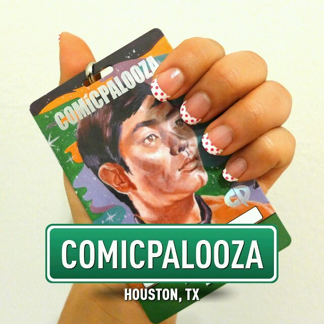 Houston Comicpalooza Badge